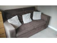 Versatile 3-seater/large 2-seater sofa