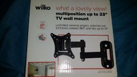 """Multi Position Tv Wall Bracket up to 23"""""""