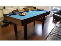 Pool/Snooker Table & Table Tennis 3 in 1