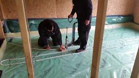 Unused underfloor heating pipe - 250m+ Wunda floor 16mm pipe