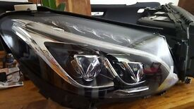 Mercedes C Class W205 ILS FULL LED Headlights Lamps W205 PARTS