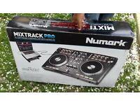 DJ software controller with audio I /O