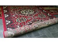 Gorgeous 160x225 Red carpet (used only 2 times)