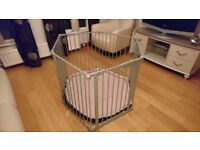 lindam playpen with soft mat for sale