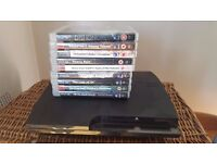 PS3 with: The Last of Us, Dishonored, Uncharted 1-3, Metal Gear Solid 4-5, Heavy Rain, Tomb Raider