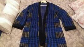 Vintage oversized cardigan jacket