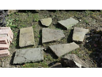 Reclaimed Real Stone Slab Pieces
