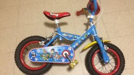 Child's paw patrol bike