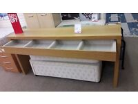 Light Wood Dressing Table w/Pull Out Drawer