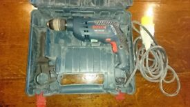 Bosch GSB 1600RE 110 volt drill with case