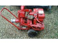 Godwin diesel engine and water pump