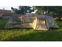 Coleman Mackenzie Cabin 6xl tent plus extension and extras