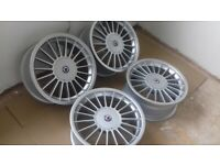 E39 BMW 5 SERIES 523i SE ALPINA ALLOY WHEELS 17 INCHES