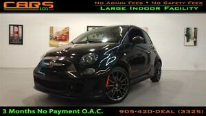 2012 Fiat 500 Abarth | Sunroof | Leather |