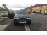 Black BMW X5 excellent condition