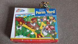 Giant Farm Yard Floor Puzzle