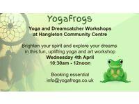 Yoga and Dreamcatcher Workshop at Hangleton Community Centre