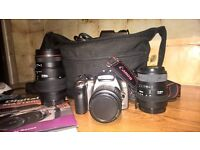 Canon 300d SLD and lenses