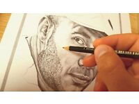 Quality Pencil Portraits !!GREAT XMAS GIFT!!