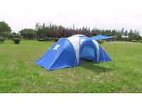 ProAction 6 Man 2 Room Tent (Used Once-needs washing)