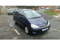 2006 ford galaxy 1.9 tddi zetec 7 seater with full service history