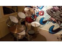 Drum kit plus extras for sale. Only £120 ono