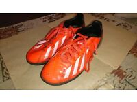 Adidas F50 football trainers size 2