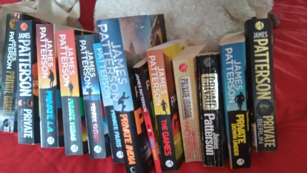 "James Patterson ""Private"" series"