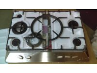 STOVES SGH700C Gas Hob - Stainless Steel Ex display