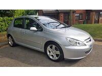 Peugeot 307, 2litre, 1 year MOT, 150,000 mileage, 6 speed gear, £750