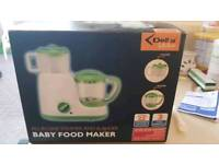 Baby food mixer steamer boxed