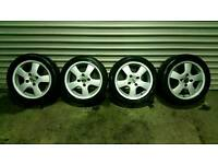 SET OF 15 INCH FORD ALLOYS 4X108 £60