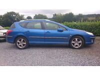 Peugeot 407 sw needs new engine otherwise great condition.