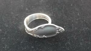 Silver Plated Adjustable Spoon Rings - Large Sizes