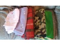 Selection of cosy blankets