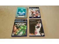 Playstation 2 Games - WWE Here Comes the Pain - Fifa 06 - Splinter Cell - Manhunt