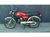 Yamaha yb100 cc one year mot full logbook