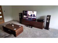 Onkyo AV Receiver and Tannoy Speaker setup