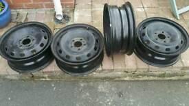 Vauxhall vivaro Renault traffic steel wheels x4 2018 model