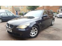 BMW 525I SE AUTO TOURING 140K MILES 3 OWNERS 2 KEY'S, SAT NAV FULLY LOADED PX WELCOME