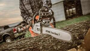 STIHL Dealer Days Is On!  Stihl MS271 50CC Chainsaw! FREE Spare Chain! Double your warranty on us!