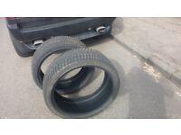 265 35 22 tyres with plenty tread left