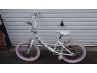 Girls bike - Bumper Sparkle - suit 6 -8 year old - used condition but lots of life yet
