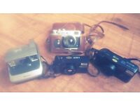 Collection of 35mm Cameras
