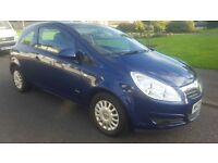 VAUXHALL CORSA CDTI 1.3 DIESEL ECO FLEX 09 REG FULL HISTORY JUST SERVICED ECONOMICAL £30 YEAR TAX