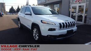 2016 Jeep Cherokee LIMITED, NAVI, REMOTE START, HEATED STEERING