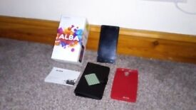 Alba mobile phone great for keeping contact with your kids at school. Phone in excellent condition.