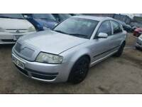 SKODA SUPERB 5 door, 1.9 deisel , with mot, good runner, cheap car