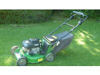 John deere 21' cut professional mower with Kawasaki engine blade clutch alloy deck, cost over £1000