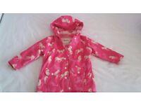 Girls Hatleys Raincoat, size 3